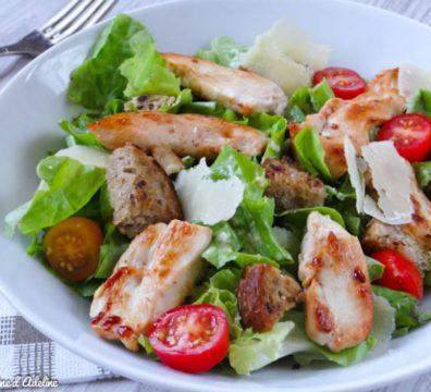 Salade césar Ebanian Traiteur Nantes 44